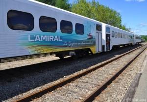 Le train touristique l'Amiral